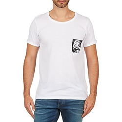 Oblečenie Muži Tričká s krátkym rukávom Eleven Paris MARYLINPOCK MEN Biela
