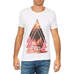 Oblečenie Muži Tričká s krátkym rukávom Eleven Paris MIAMI M MEN Biela
