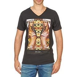 Oblečenie Muži Tričká s krátkym rukávom Eleven Paris N35 M MEN Čierna