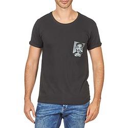 Oblečenie Muži Tričká s krátkym rukávom Eleven Paris WOLYPOCK MEN Čierna