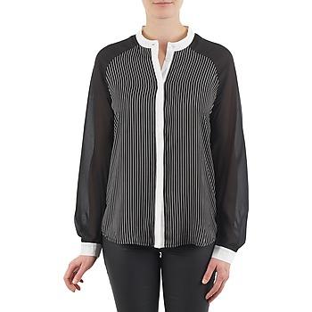 Oblečenie Ženy Košele a blúzky Manoukian RAGANE Čierna