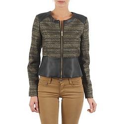 Oblečenie Ženy Saká a blejzre Manoukian QUEELT Čierna / Zlatá