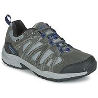 Topánky Muži Turistická obuv Hi-Tec ALTO II LOW WP Uhoľná šedá / Modrá