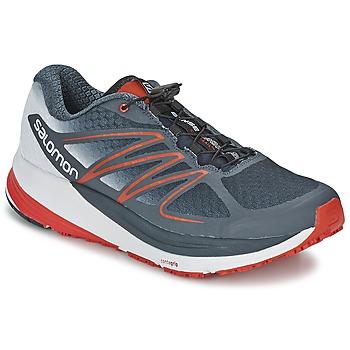 Topánky Muži Bežecká a trailová obuv Salomon SENSE PROPULSE šedá / červená