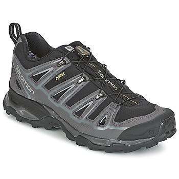 Topánky Muži Turistická obuv Salomon X ULTRA 2 GTX čierna / šedá