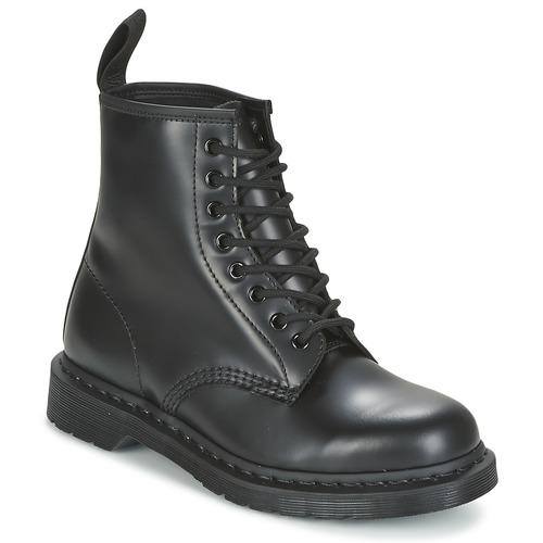 Topánky Polokozačky Dr Martens 1460 MONO Čierna / Smooth