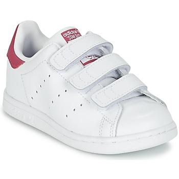 Topánky Dievčatá Nízke tenisky adidas Originals STAN SMITH CF I Biela