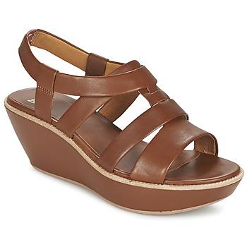 Topánky Ženy Sandále Camper DAMAS Hnedá