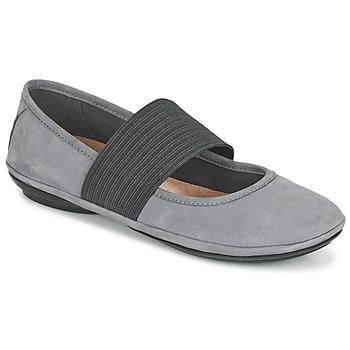 Topánky Ženy Balerínky a babies Camper RIGHT NINA šedá