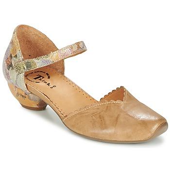 Topánky Ženy Sandále Think AIDA ťavia hnedá