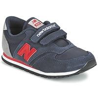 Topánky Deti Nízke tenisky New Balance KE420 Námornícka modrá / Červená