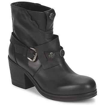 Topánky Ženy Čižmičky Strategia MAUTAU Čierna