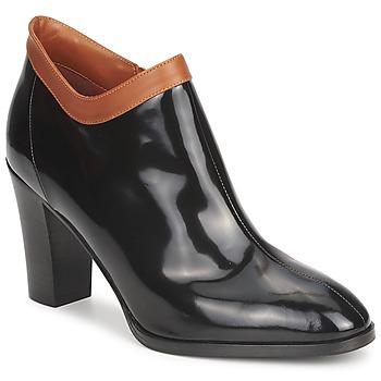 Topánky Ženy Nízke čižmy Sonia Rykiel 654802 čierna / Okrová-svetlá hnedá