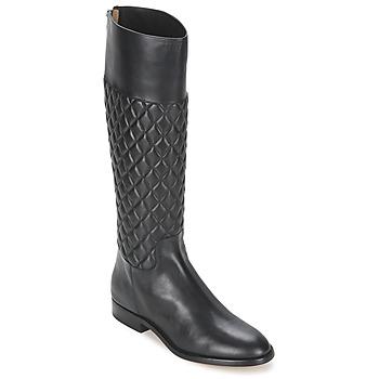 Topánky Ženy Čižmy do mesta Michael Kors MINA Čierna