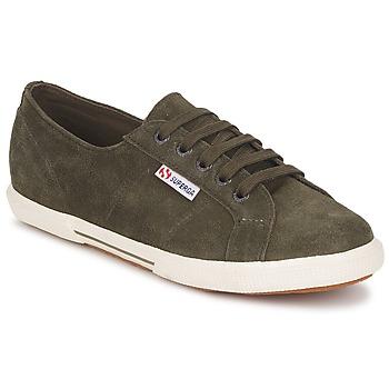 Topánky Nízke tenisky Superga 2950 Maskáčová zelená