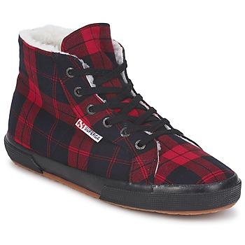 Topánky Členkové tenisky Superga 2095 Červená / Čierna