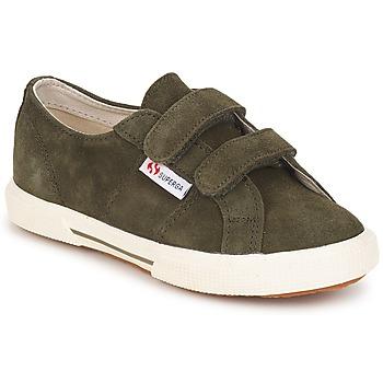 Topánky Deti Nízke tenisky Superga 2950 Maskáčová zelená