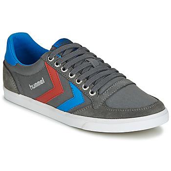 Topánky Nízke tenisky Hummel TEN STAR LOW CANVAS šedá / Modrá / červená