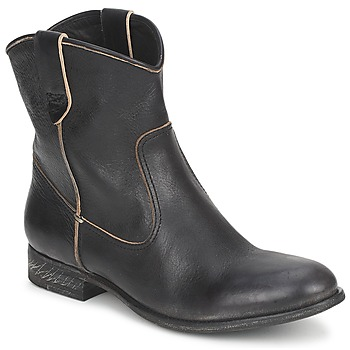 Topánky Ženy Polokozačky n.d.c. SAN MANUEL CAMARRA SLAVATO čierna