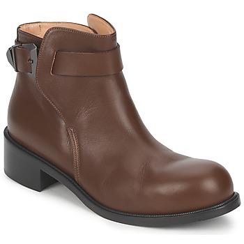 Topánky Ženy Polokozačky Kallisté 5723 Hnedá