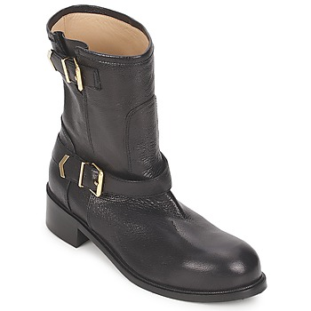 Topánky Ženy Polokozačky Kallisté 5609 Čierna