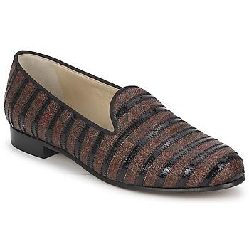 Topánky Ženy Mokasíny Etro FLORINDA Hnedá / Čierna