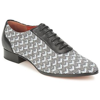 Topánky Ženy Richelieu Missoni WM076 Čierna / Šedá