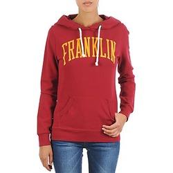 Oblečenie Ženy Mikiny Franklin & Marshall TOWNSEND Červená