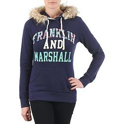 Oblečenie Ženy Mikiny Franklin & Marshall COWICHAN Námornícka modrá
