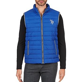 Oblečenie Muži Vyteplené bundy U.S Polo Assn. USPA 1890 Modrá