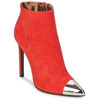 Topánky Ženy Čižmičky Roberto Cavalli WDS213 Červená