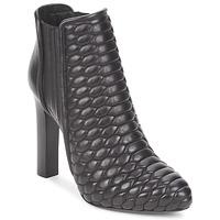 Topánky Ženy Čižmičky Roberto Cavalli WDS227 Čierna
