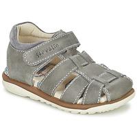 Topánky Chlapci Sandále Garvalin GALERA šedá