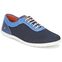Topánky Muži Nízke tenisky Art QWERTY Modrá