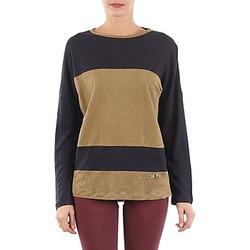Oblečenie Ženy Tričká s dlhým rukávom TBS POOL Modrá / Béžová