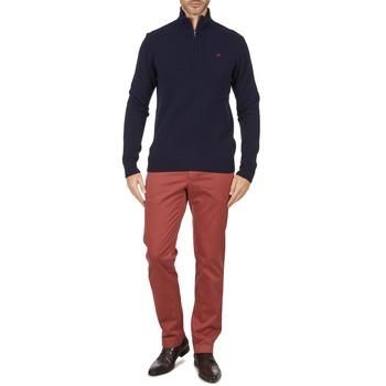 Oblečenie Muži Nohavice Chinos a Carrot Hackett STRETCH TWILL CHINO Ružová