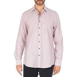 Oblečenie Muži Košele s dlhým rukávom Hackett MULTI MINI GRID CHECK Viacfarebná