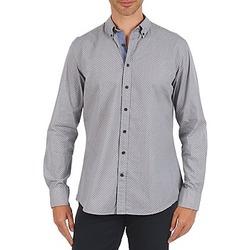 Oblečenie Muži Košele s dlhým rukávom Hackett MEDALLION MULTI BD Modrá