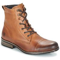 Topánky Muži Polokozačky Casual Attitude RIBELLE Ťavia hnedá