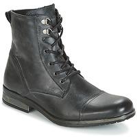 Topánky Muži Polokozačky Casual Attitude RIBELLE Čierna
