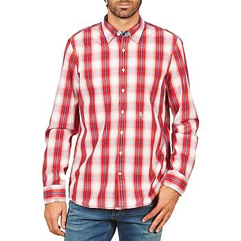 Oblečenie Muži Košele s dlhým rukávom Gaastra ECHO SOUNDING červená