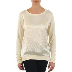 Oblečenie Ženy Tričká s dlhým rukávom Majestic 237 Krémová