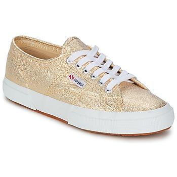 Topánky Ženy Nízke tenisky Superga 2751 LAMEW Zlatá