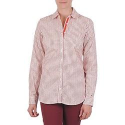 Oblečenie Ženy Košele a blúzky Tommy Hilfiger CARYN Oranžová