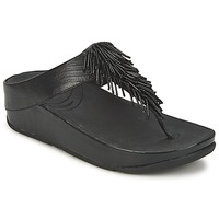 Topánky Ženy Žabky FitFlop CHACHA Čierna