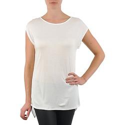 Oblečenie Ženy Tričká s krátkym rukávom La City TS CROIS D6 Biela