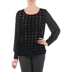 Oblečenie Ženy Blúzky La City ML FLOCK P Čierna