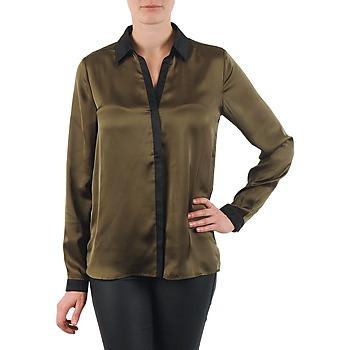 Oblečenie Ženy Košele a blúzky La City O CHEM PATTE Kaki / Čierna