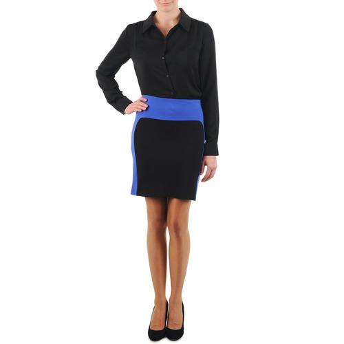 Oblečenie Ženy Sukňa La City JMILBLEU Čierna / Modrá
