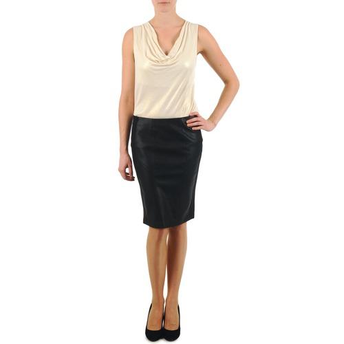 Oblečenie Ženy Sukňa La City JUPE BIMAT Čierna